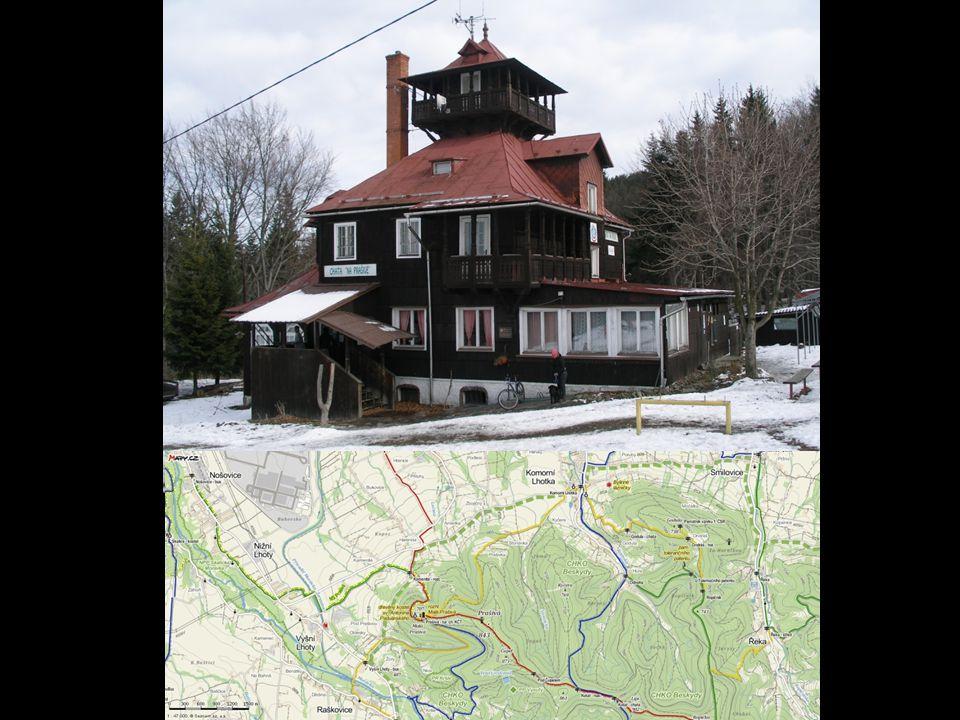 Horská chata na Prašivé leží v CHKO Beskydy v nadmořské výšce 706 m. Jedná se o architektonicky jedinečnou dřevěnou chatu z roku 1921. Poblíž chaty se