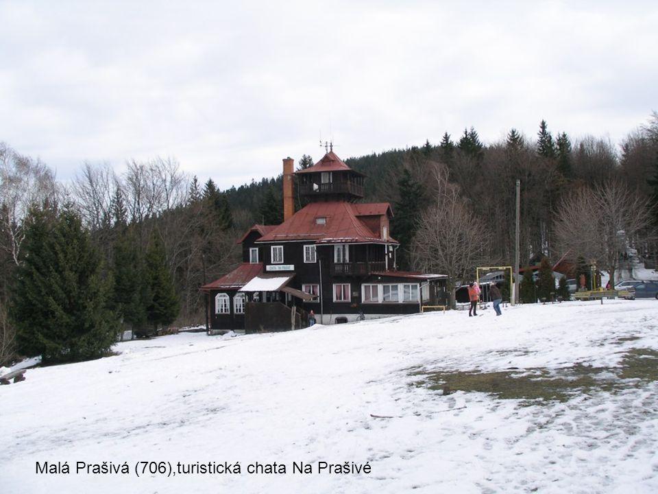 Malá Prašivá (706), dřevěný kostel sv.Antonína Paduánského