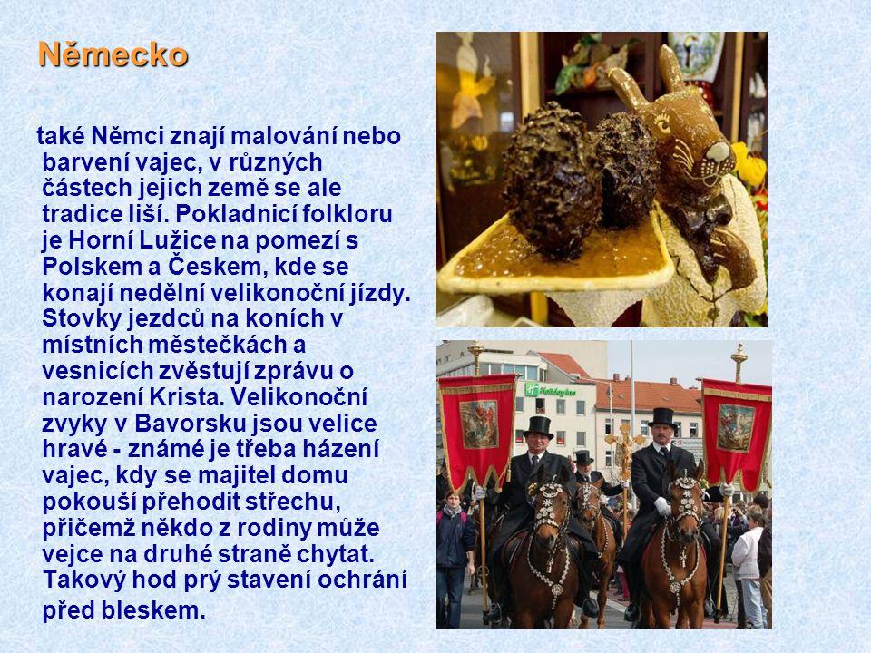 Polsko Polsko na Bílou sobotu si zástupy věřících v této silně katolické zemi chodí do kostela nechat posvětit potraviny, na nichž si pochutnají se sv
