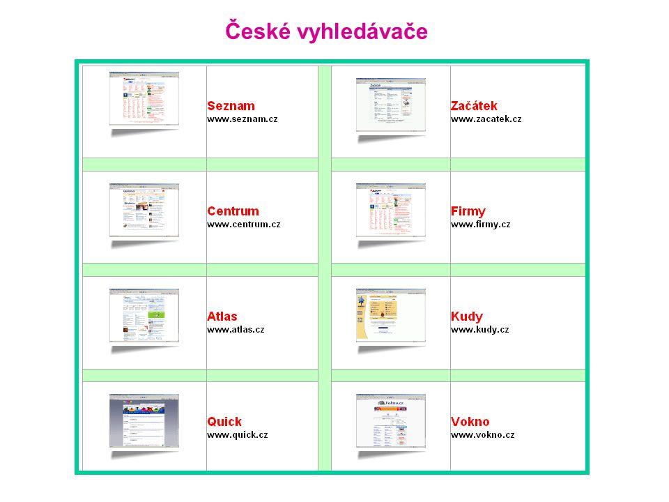 České vyhledávače