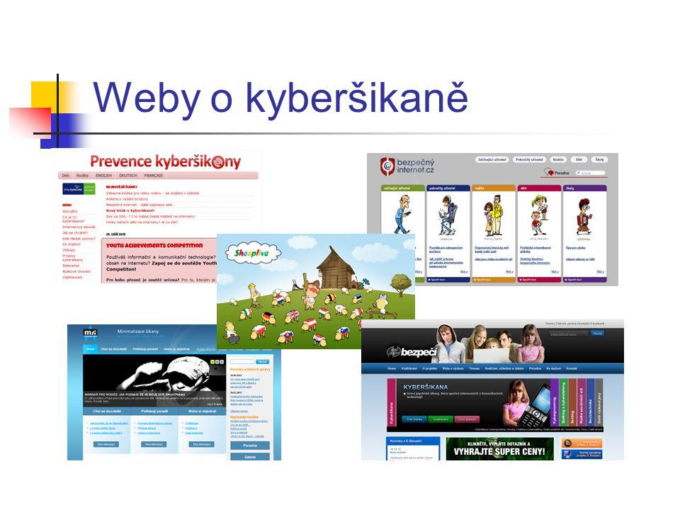 Weby o kyberšikaně