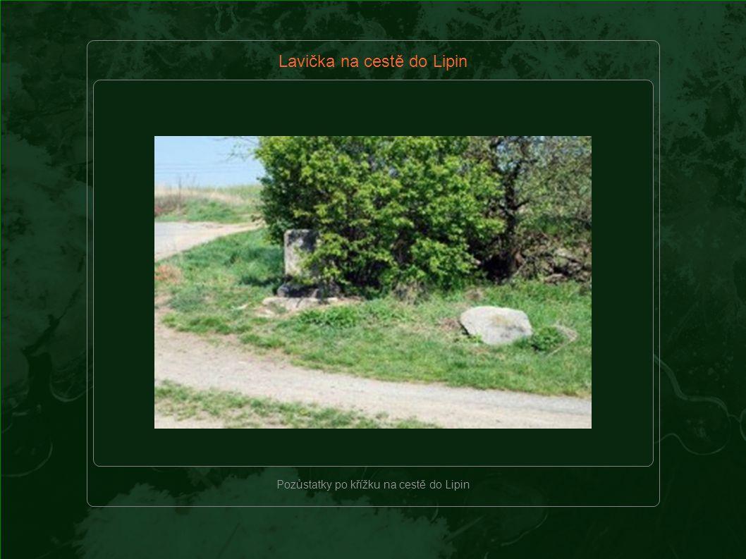 Místo pro život – Lavička na cestě do Lipin Cesta do Lipin