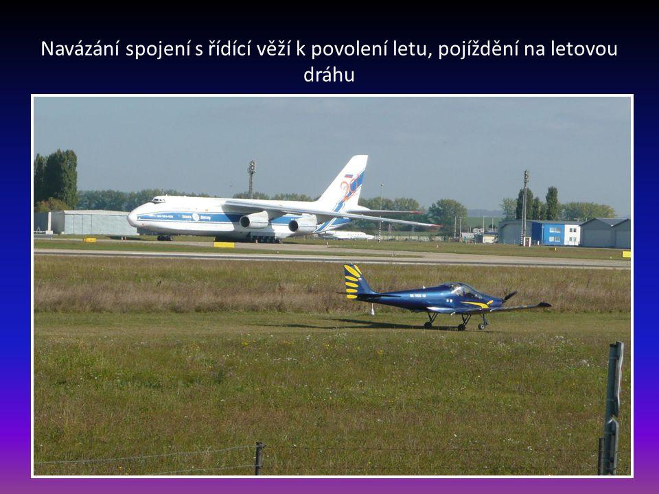 Vladimír připraven k letu