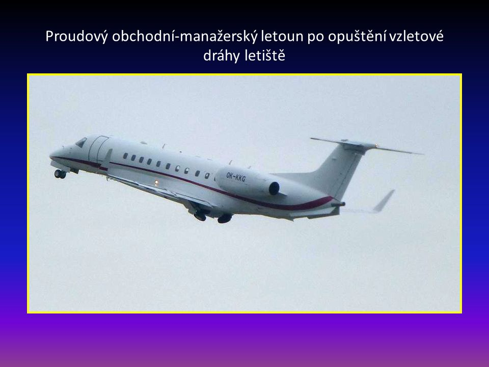 Obchodní-manažerský proudový letoun