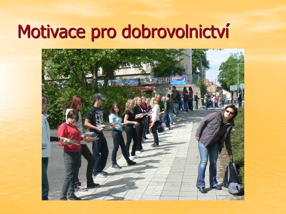 Motivace pro dobrovolnictví