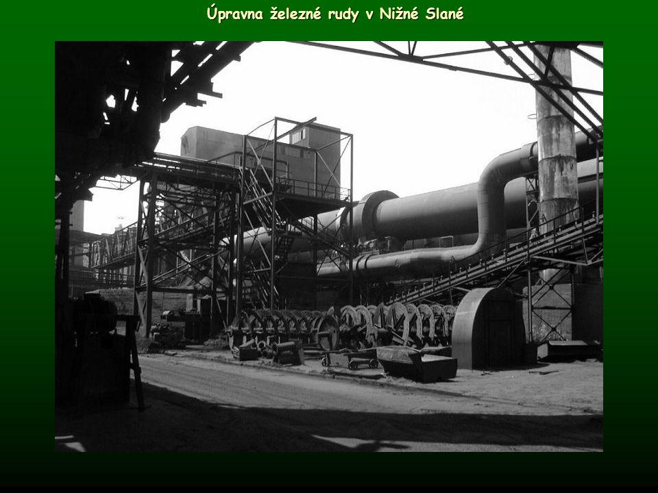 Úpravna železné rudy v Nižné Slané