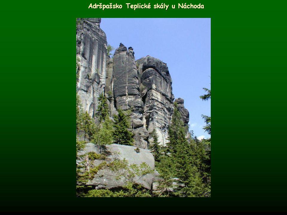 Adršpašsko Teplické skály u Náchoda