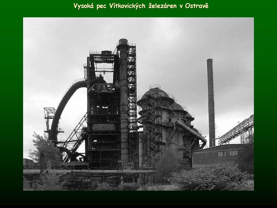 Vysoká pec Vítkovických železáren v Ostravě