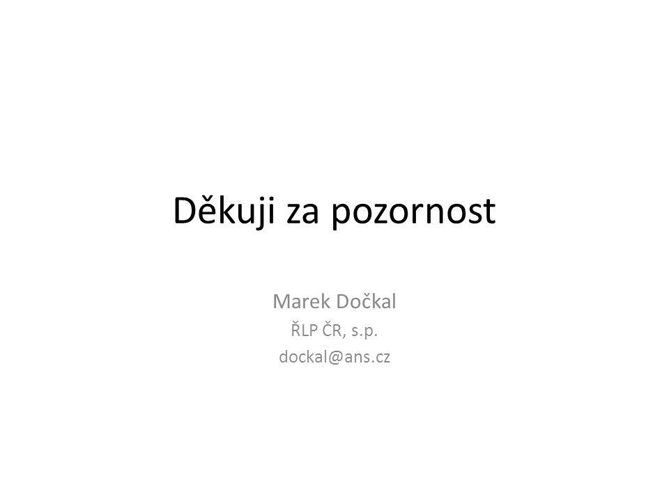 Děkuji za pozornost Marek Dočkal ŘLP ČR, s.p. dockal@ans.cz