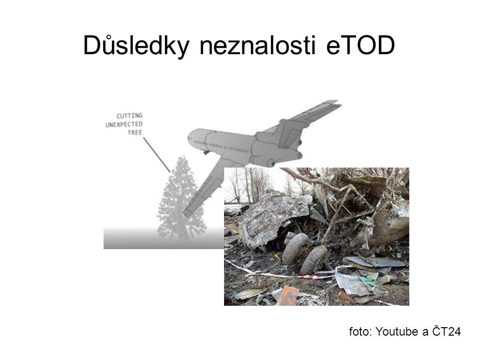 Důsledky neznalosti eTOD foto: Youtube a ČT24