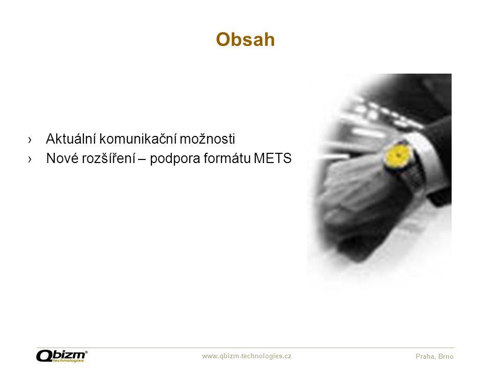 www.qbizm-technologies.cz Praha, Brno Descriptive metadata Dublin Core