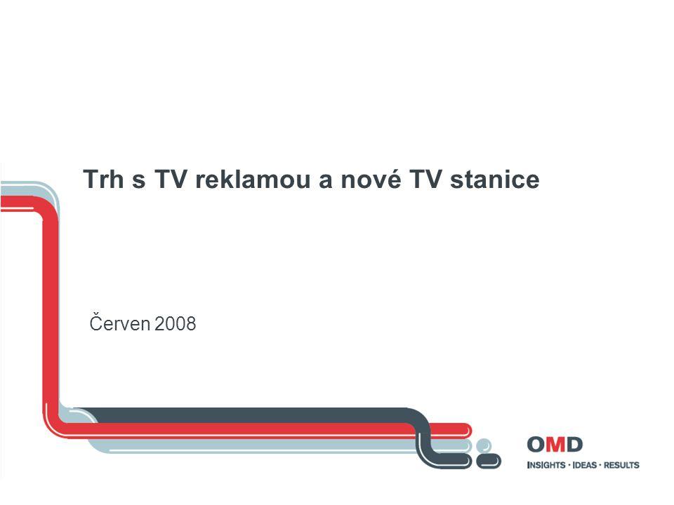 Trh s TV reklamou a nové TV stanice Červen 2008