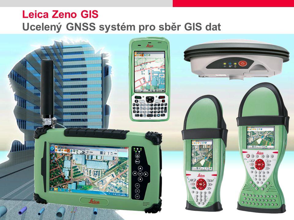 1 Leica Zeno GIS Ucelený GNSS systém pro sběr GIS dat