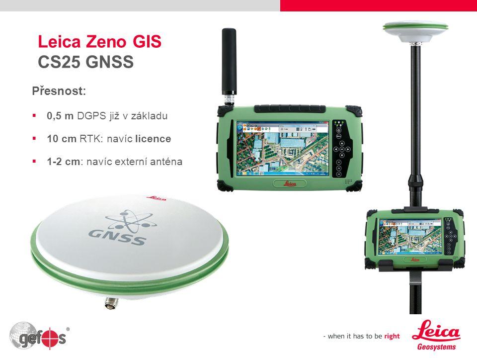 10 Leica Zeno GIS Software – napříč vším hardwarem Zeno Field  OEM ESRI ArcPad, navíc  Zeno Office – OEM ESRI ArcGIS Zeno Connect  Rozhraní pro softwary 3.stran