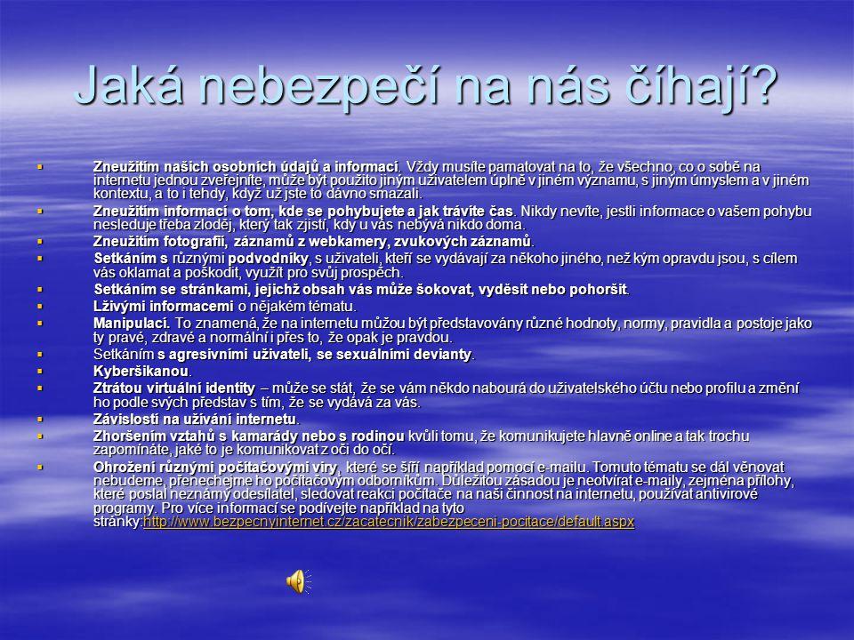 Internet dobro nebo zlo?  http://jarda.peregrin.cz/mybibl/PDFTxt/380. pdf http://jarda.peregrin.cz/mybibl/PDFTxt/380. pdf http://jarda.peregrin.cz/my