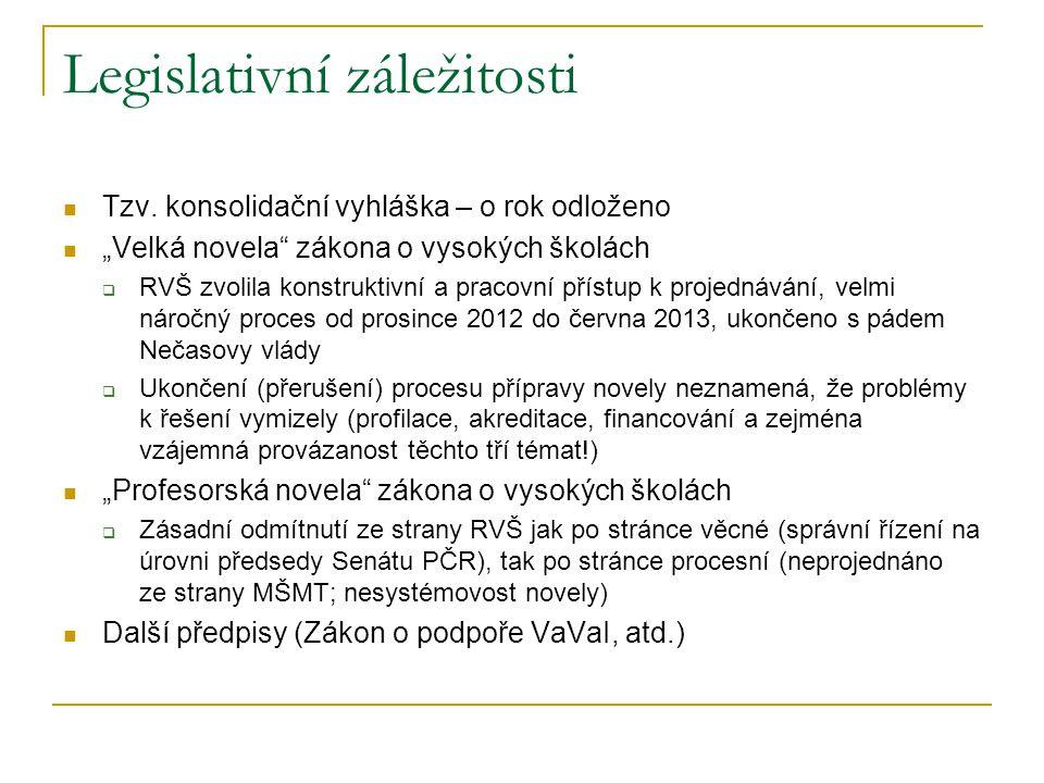Legislativní záležitosti  Tzv.