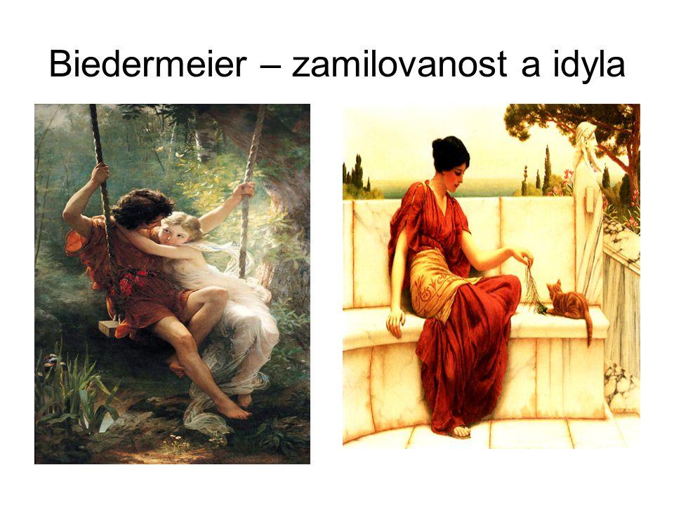 Biedermeier – zamilovanost a idyla