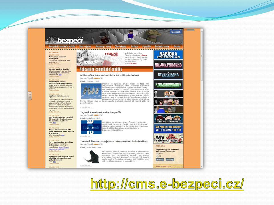 http://www.e- nebezpeci.cz/index.php /ke-stazeni/prezentace- pro-studenty