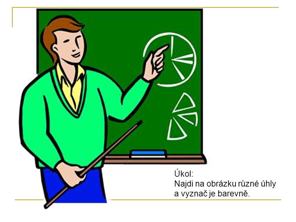Osu úhlu AVB rozdělí úhel na polovinu.