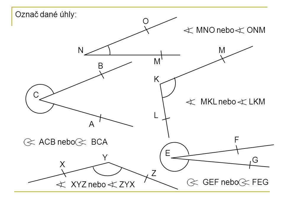 Body K, D, M, C, A, B, V patří AVB.V B C A M D K Y Z V B A C D M Y Z K Které body patří úhlu AVB.