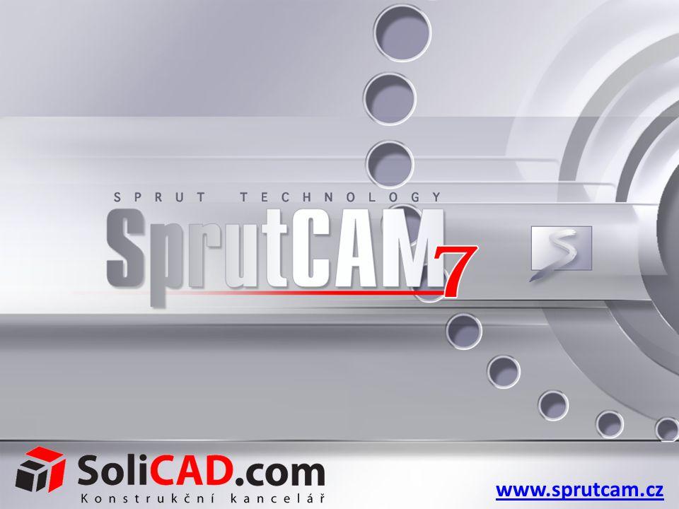 Frézování SprutCAM 7 představuje perfektní řešení k tvorbě NC programů pro obrábění frézováním na široké škále typů obráběcích strojů - od 2D a 2.5D až po 5D obrábění.