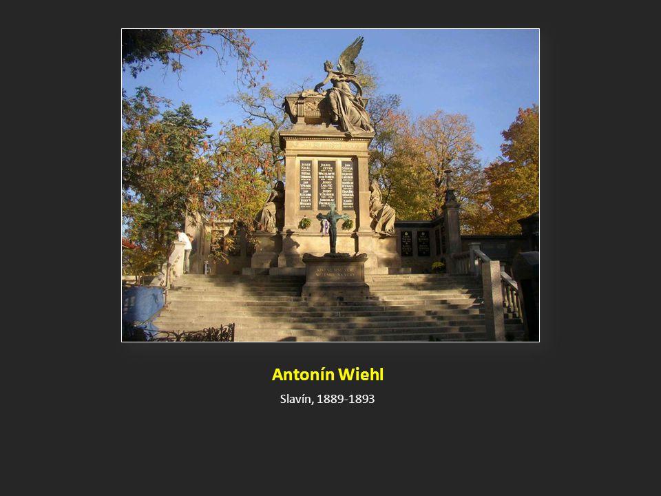 Antonín Wiehl Slavín, 1889-1893