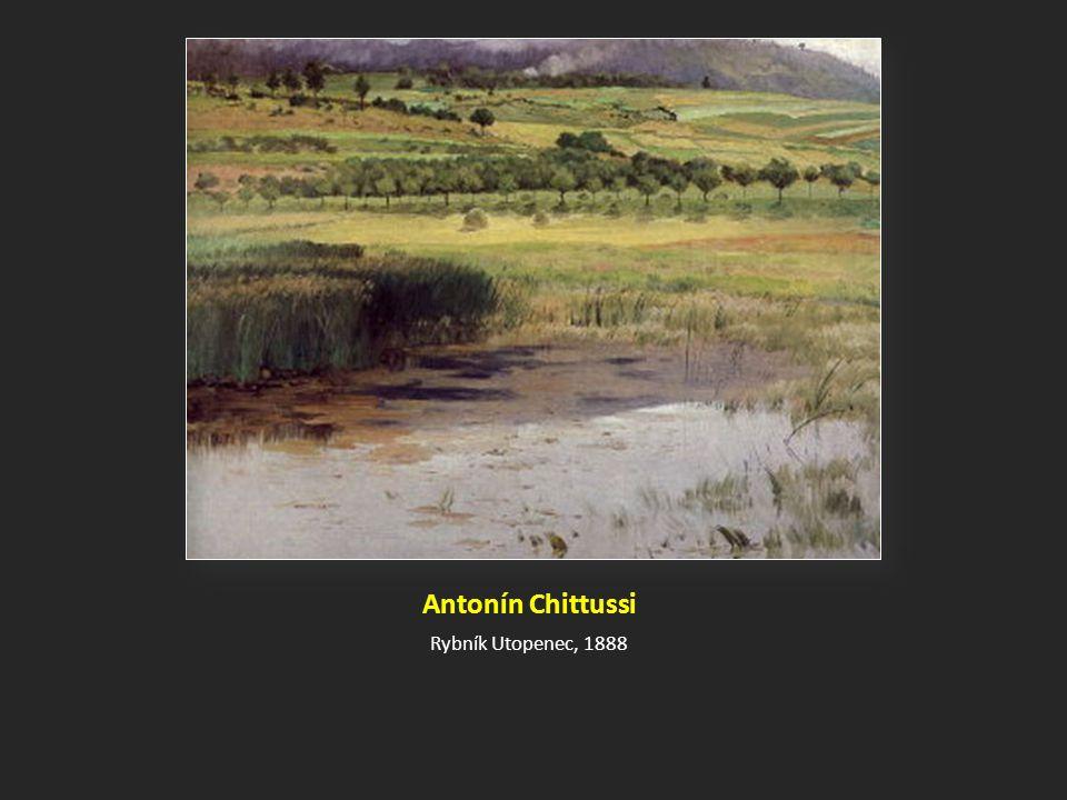 Antonín Chittussi Rybník Utopenec, 1888