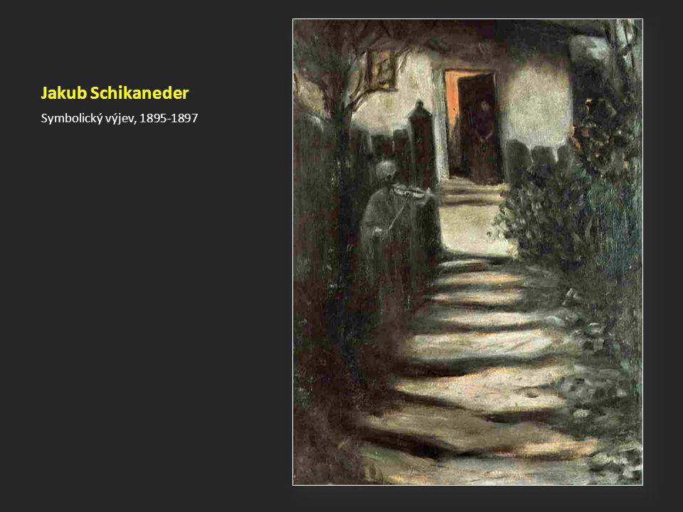 Jakub Schikaneder Symbolický výjev, 1895-1897