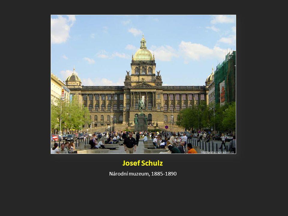 Josef Schulz Národní muzeum, 1885-1890