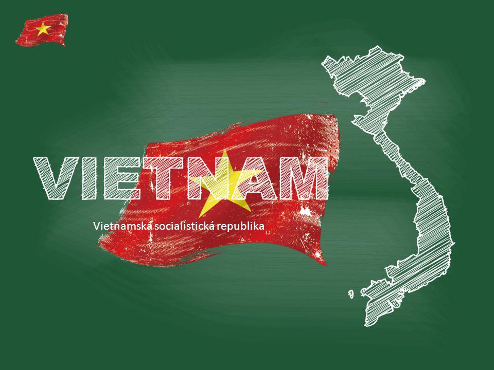 """ZÁKLADNÍ INFORMACE Hlavní město:Hanoj Rozloha:329 560 km² Počet obyvatel:90 549 390 Měna:Vietnamský dong (VND) Státní zřízení:socialistická republika President:Trương Tấn Sang Úřední jazyk:vietnamština Vietnam se člení na 63 administrativních oblastí; jde o 58 provincií a 5 měst """"pod ústřední správou ."""