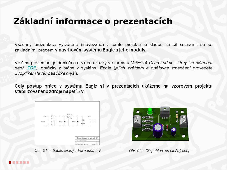 Eagle: je ucelený systém programů pro návrh desek plošných spojů.