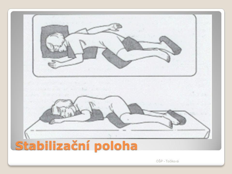 Stabilizační poloha OŠP - Točíková