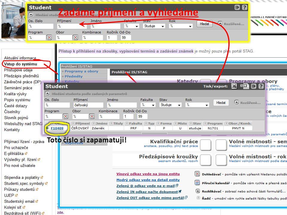Obnova hesla pro Eduroam • Vstoupíme na studentský email • Viz.