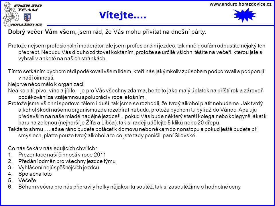 www.enduro.horazdovice.cz 16.4. Cross Country Libětice