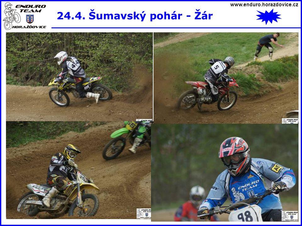 www.enduro.horazdovice.cz 24.4. Šumavský pohár - Žár