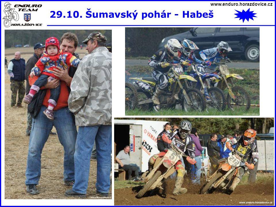 www.enduro.horazdovice.cz 29.10. Šumavský pohár - Habeš