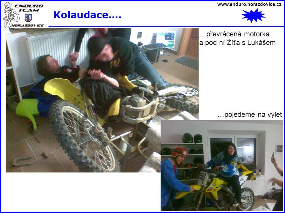 www.enduro.horazdovice.cz Kolaudace….