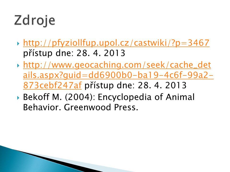  http://pfyziollfup.upol.cz/castwiki/?p=3467 přístup dne: 28. 4. 2013 http://pfyziollfup.upol.cz/castwiki/?p=3467  http://www.geocaching.com/seek/ca