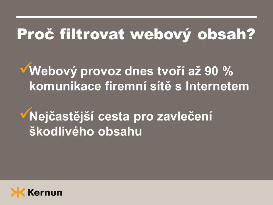Proč filtrovat webový obsah.