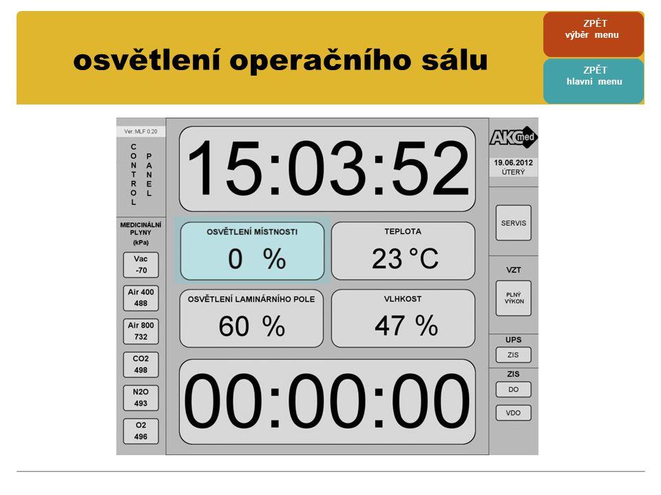 testování DO a VDO • tlačítka testování DO a VDO umožňují provést pravidelnou kontrolu izolačního stavu • po stisknutí tlačítka je slyšet po dobu testování zvukový signál • pokud test proběhne úspěšně, je okolí tlačítka podsvíceno zeleně a u neúspěšného testu je okolí tlačítka podsvíceno červeně • součastně je výsledek testu zapsán do tzv.