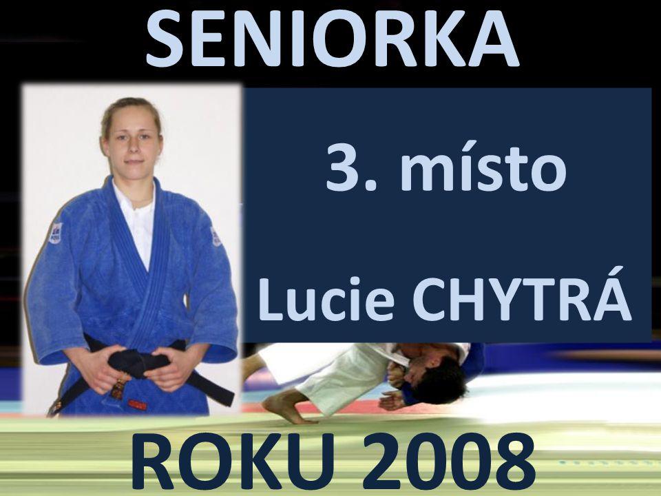 3. místo Lucie CHYTRÁ