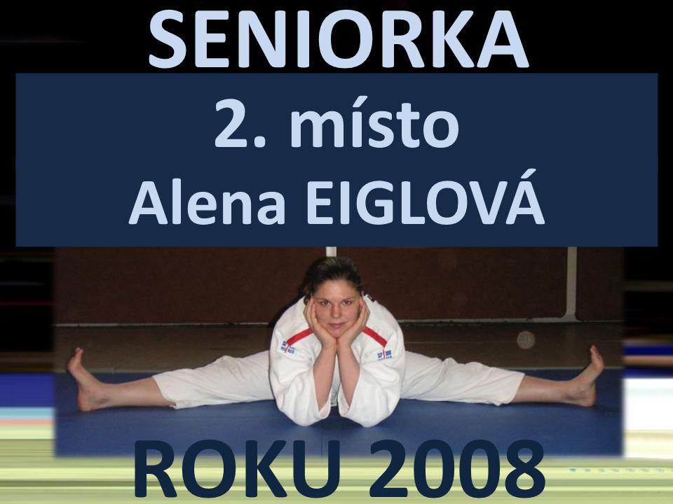 SENIORKA ROKU 2008 2. místo Alena EIGLOVÁ