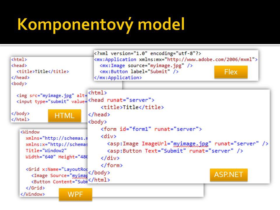 HTML Flex WPF ASP.NET
