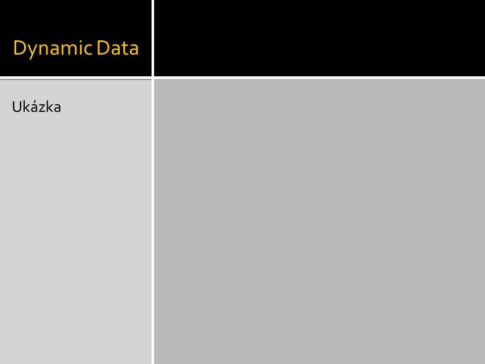 Dynamic Data Ukázka