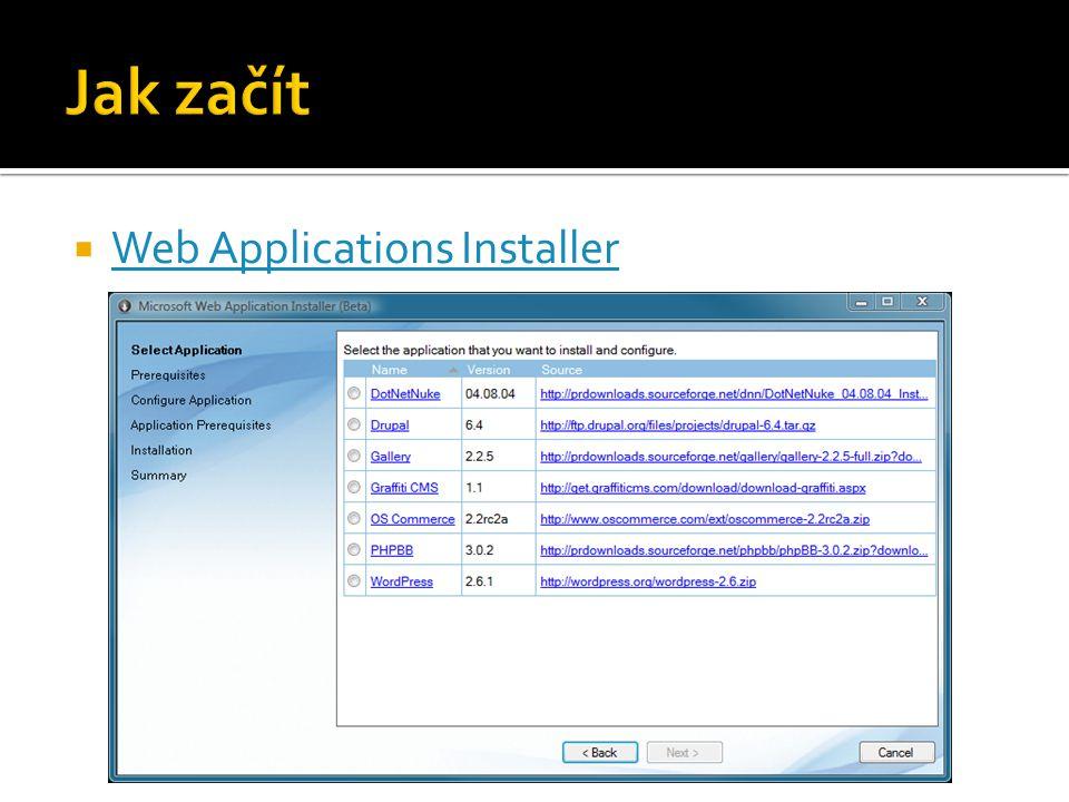  Web Applications Installer Web Applications Installer