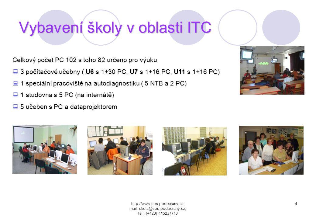 http://www.sos-podborany.cz, mail: skola@sos-podborany.cz, tel.: (+420) 415237710 3 Obory Čtyřleté studijní obory s maturitou Strojírenství (Mechatron