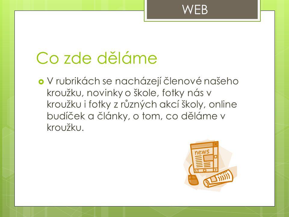Ukázka webové stránky
