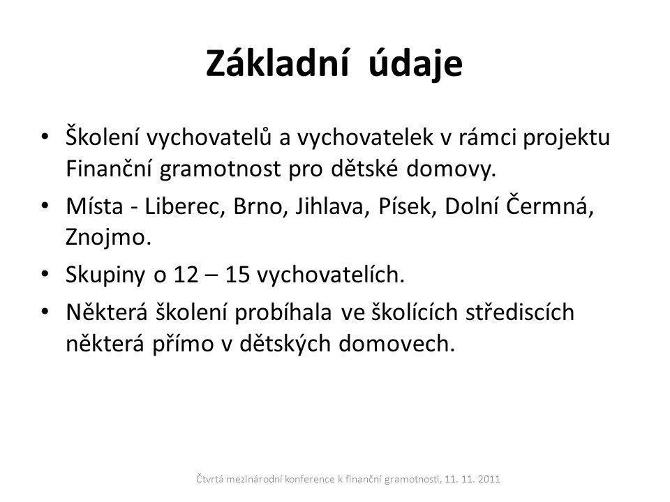 Metodické poznámky • Osnova školení byla dána Slabikářem FG.