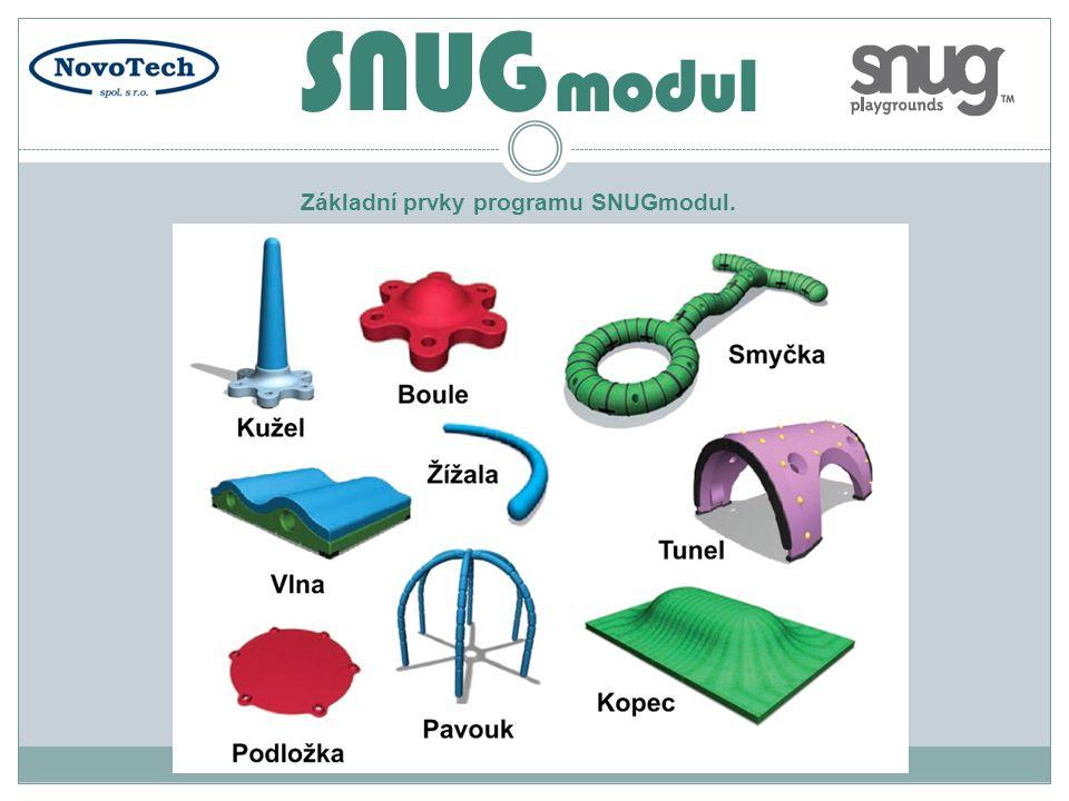Základní prvky programu SNUGmodul.