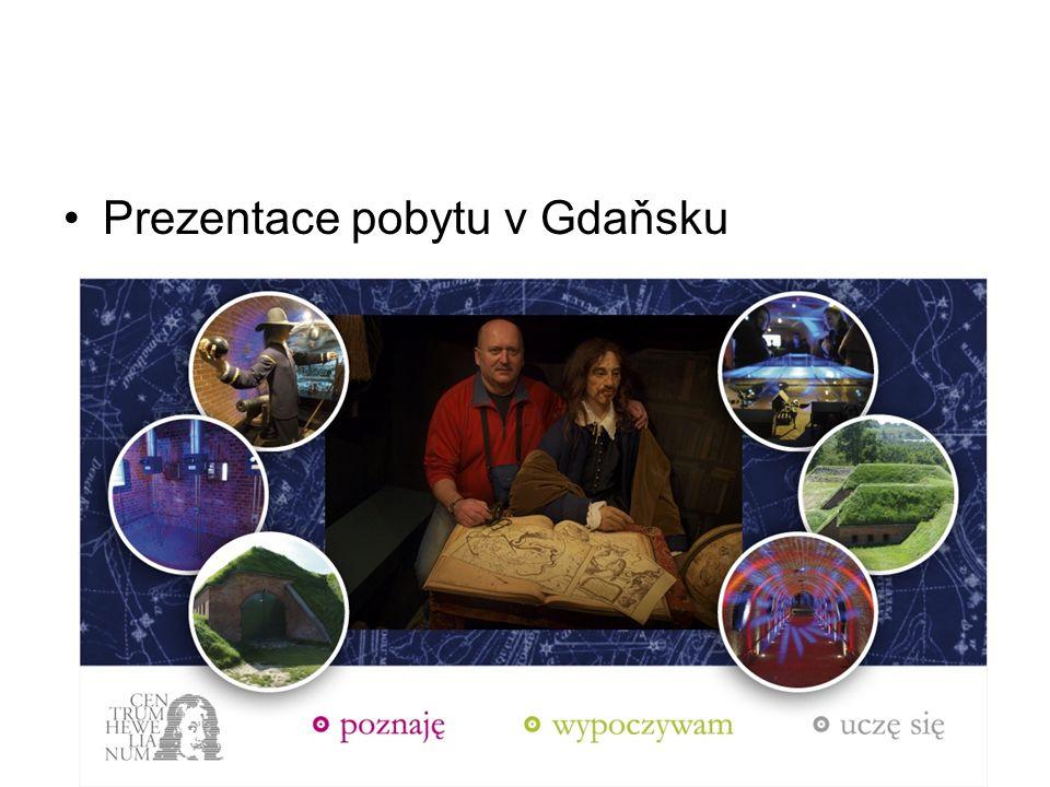 Stážisté na cestě do Gdaňska